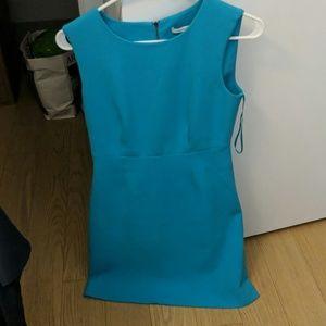 Diane von Furstenberg Work Dress Turquiose Sheath